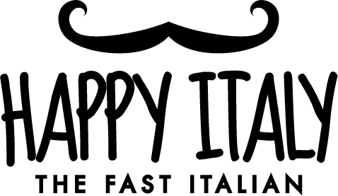happy italy logo zwart